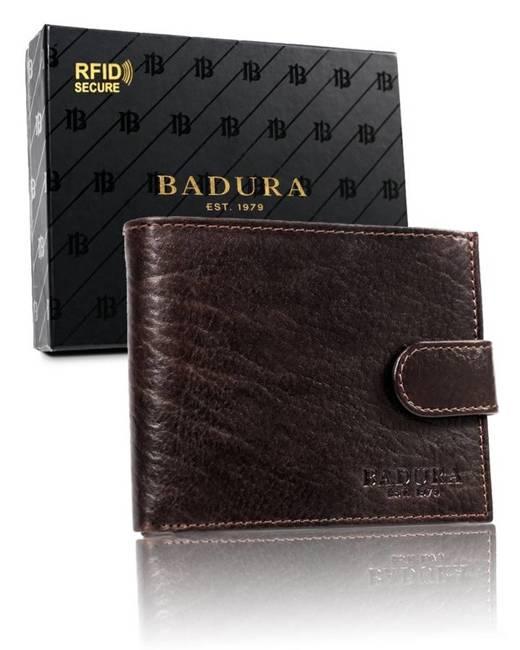 Portfel męski brązowy Badura PO_M046BR_CE