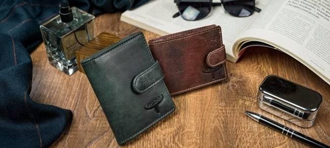 Portfel męski brązowy Buffalo Wild N1187-HP-5038 RUST