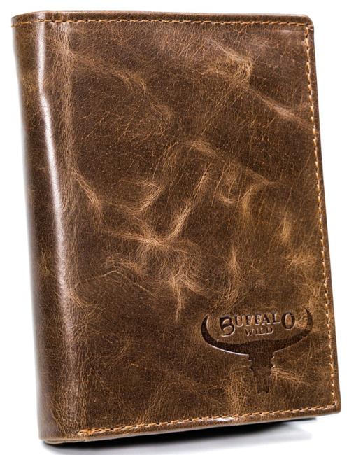 Portfel męski brązowy Buffalo Wild N4-MVTB BROWN