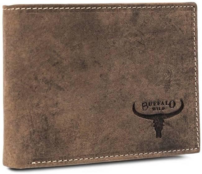 Portfel męski brązowy Buffalo Wild  RM-02-HBW BROWN