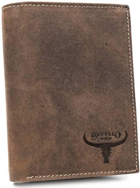 Portfel męski brązowy Buffalo Wild RM-04-HBW BROWN