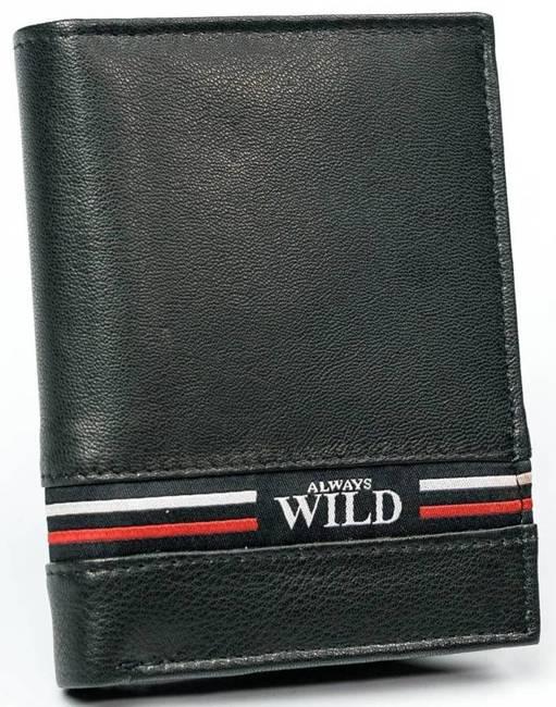 Portfel męski czarny Always Wild N4-GV-7771 BLACK