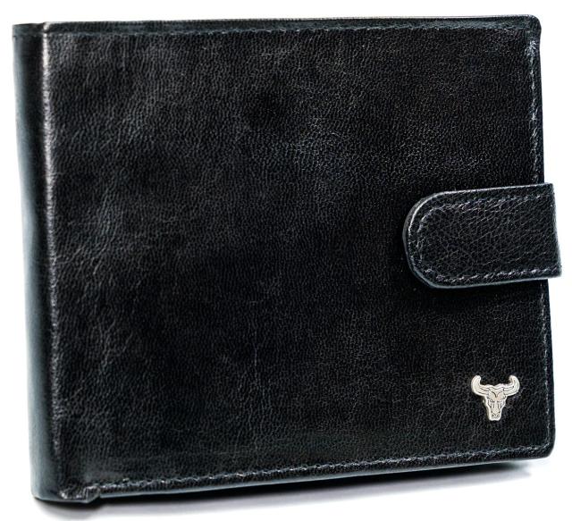 Portfel męski czarny Buffalo Wild N992L-BW BLACK