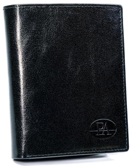Portfel męski czarny Pierre Andreus PW-011-BTU BLACK
