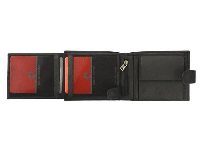 Portfel męski czarny Pierre Cardin 324A TILAK28 NERO RF