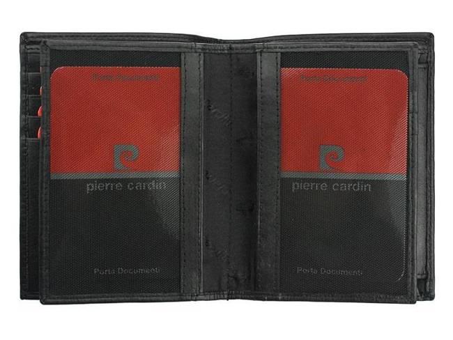 Portfel męski czarny Pierre Cardin 331 TILAK09 NERO