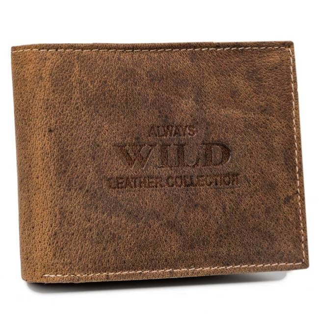 Portfel męski j. brązowy Always Wild RMH-03-7635 L.BROWN