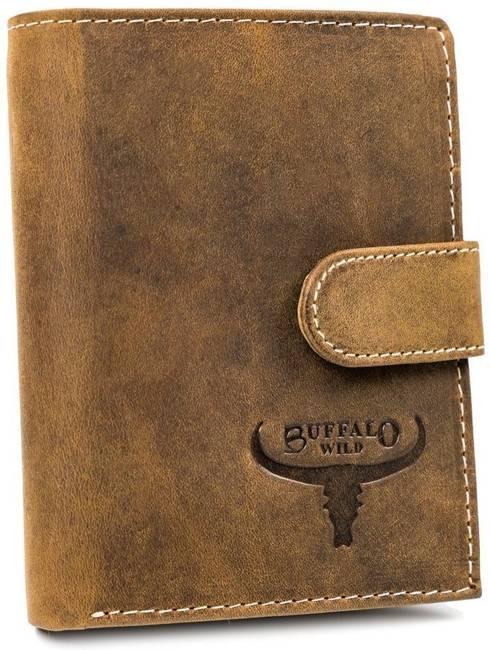 Portfel męski j. brązowy Buffalo Wild RM-07L-HBW TAN