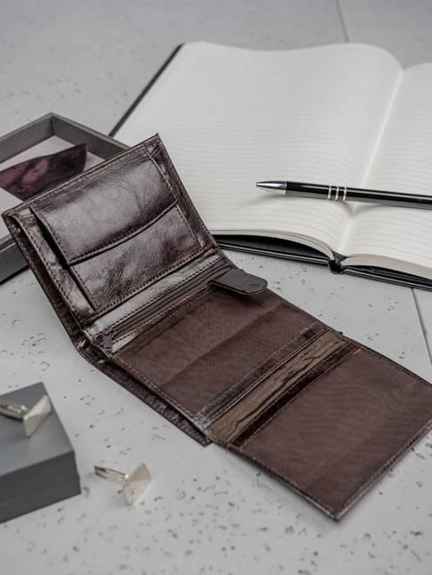 Portfel męski skórzany Always Wild N4-VTK brązowy
