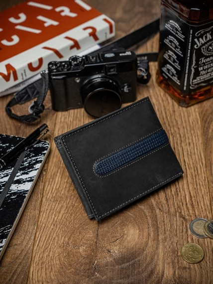 Portfel męski skórzany Always Wild N992-MHDU czarny