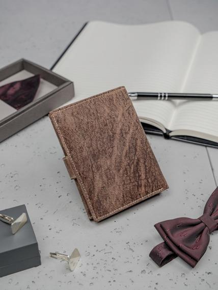 Portfel męski skórzany Always Wild RMH-04L brązowy