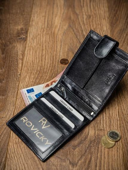 Portfel męski skórzany RFID Pierre Andreus N01L-VT-NL czarny