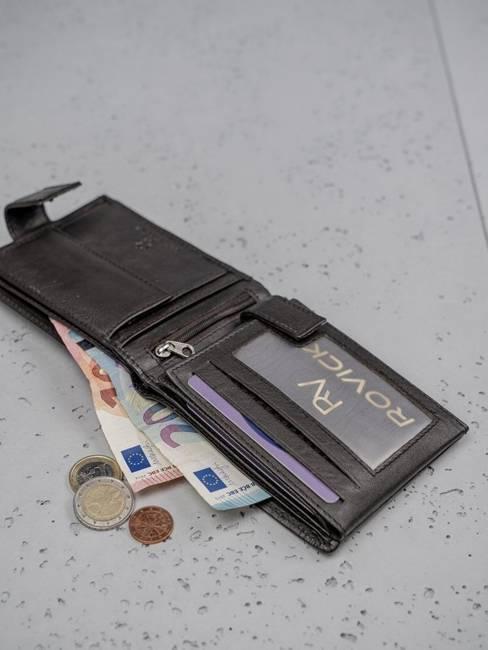Portfel męski skórzany czarny ALWAYS WILD N992L-CCF-RFID Black