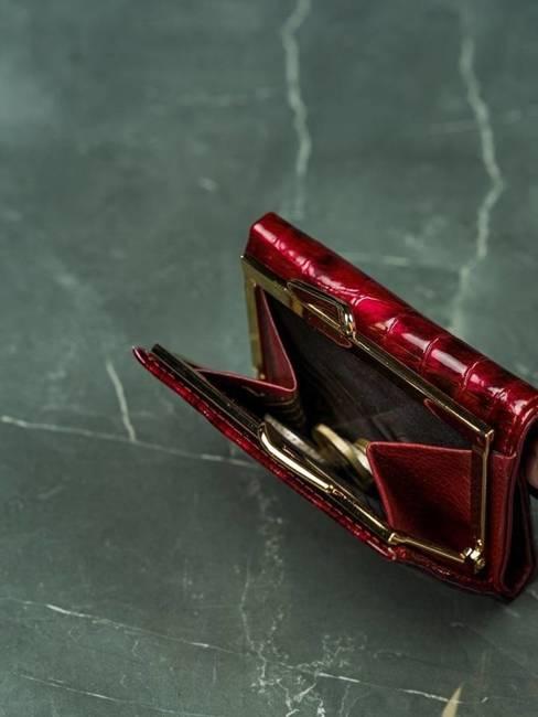 Portmonetka damska czerwona Lorenti 55287-PT-7076 RED