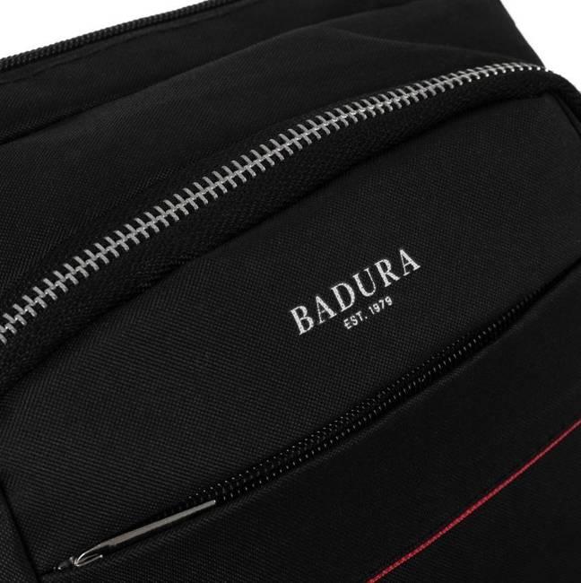 Saszetka męska czarna Badura B-MB-2802-3879 BLACK