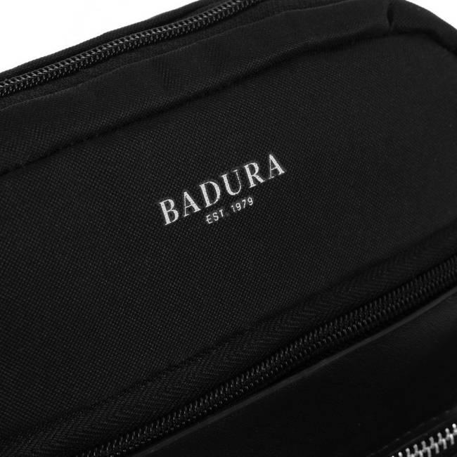 Saszetka męska czarna Badura B-MB-2803-3886 BLACK