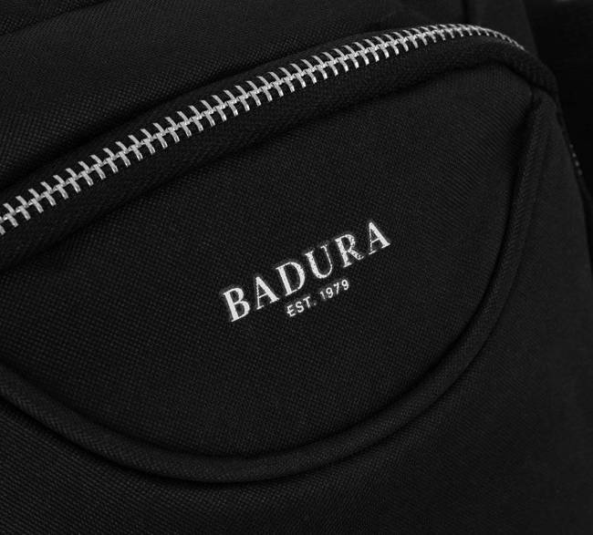 Saszetka męska czarna Badura B-MB-2804-3893 BLACK