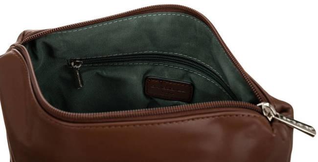 Shopper bag beżowy print David Jones 6534-2 BEIGE