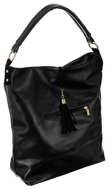 Shopper bag czarny Badura T_D161CZ_CD