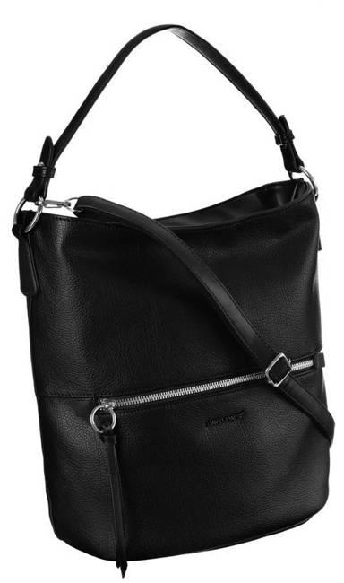 Shopper bag czarny David Jones 6518-1 BLACK