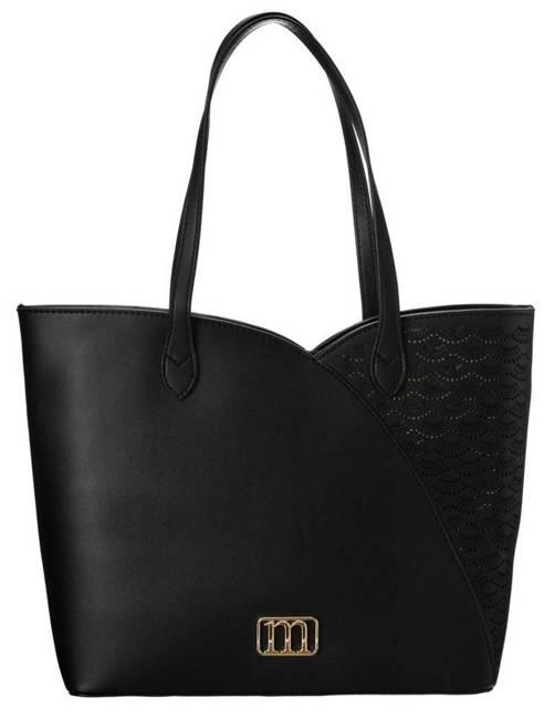 Shopper bag czarny Monnari BAG3700-020