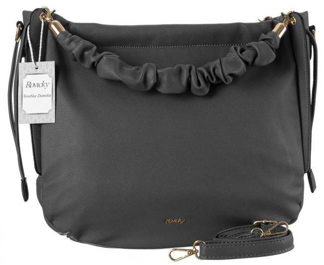 Shopper bag szary worek Rovicky TY21-02-R-4904 GRAY