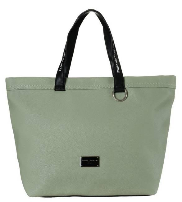 Shopper bag zielony David Jones CM5628
