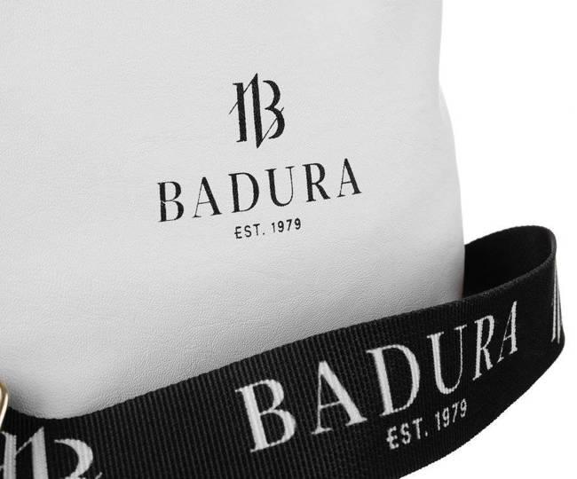 Shopper damski biało-czarny Badura TD_209BIA/CZ_CD