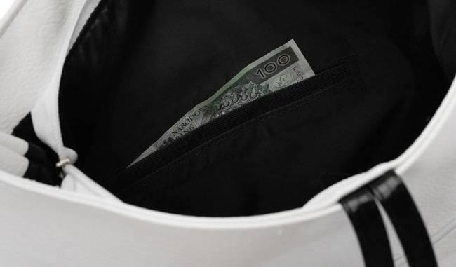 Shopper damski biało-czarny Badura T_D020BI/CZ_CD