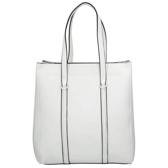 Shopper damski biały Nobo NBAG-I0380-C000