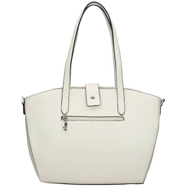 Shopper damski biały Nobo NBAG-K0050-C000