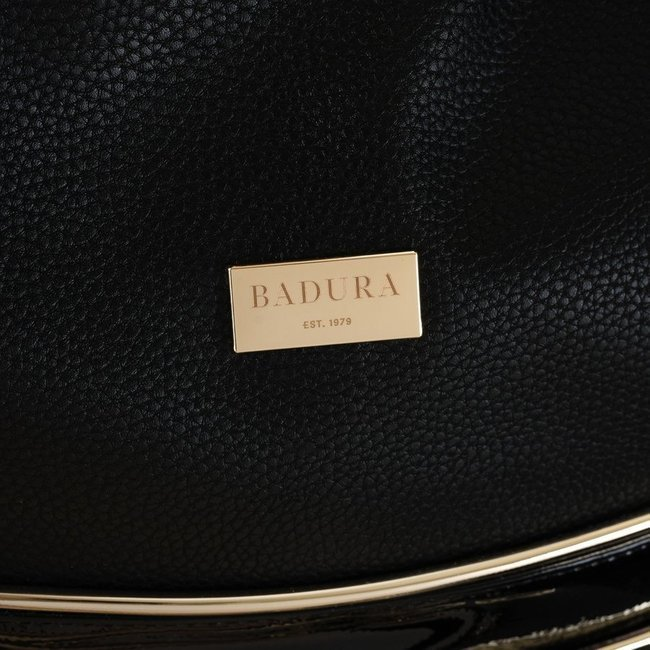 Shopper damski czarny Badura T_D222CZ_CD