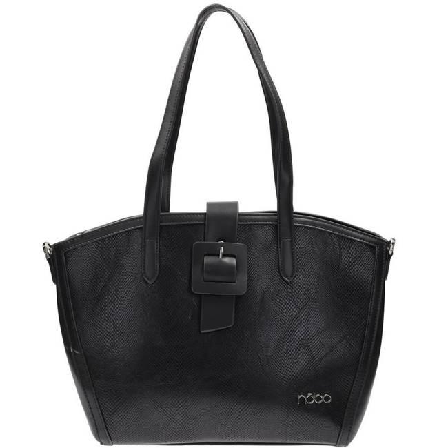 Shopper damski czarny Nobo NBAG-K0050-C020