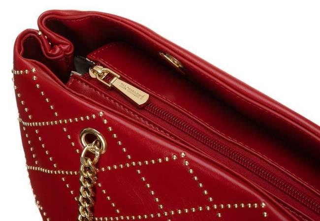 Shopper damski czerwony Monnari BAG1820-005