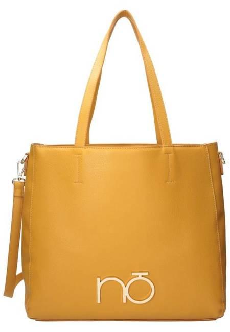 Shopper damski żółty Nobo NBAG-K3950-C002