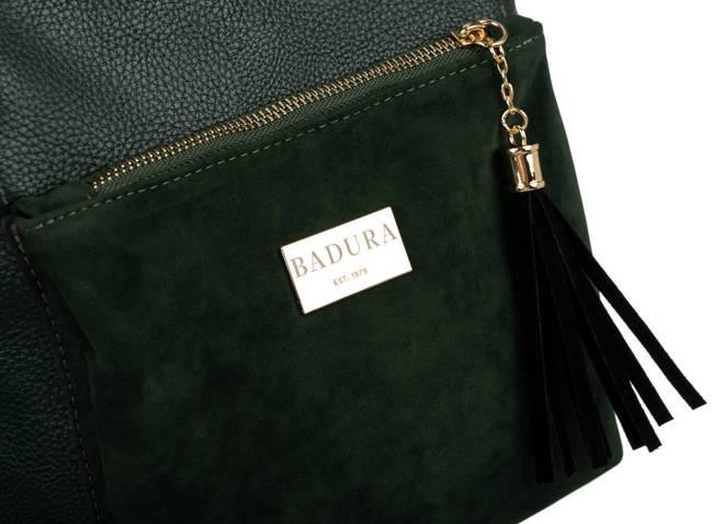 Shopperka c. zielona Badura  T_D200ZI_CD