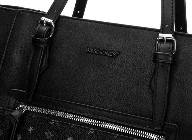 Shopperka czarna David Jones 6531-4 BLACK