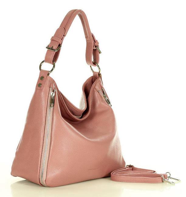 Shopperka różowa MARCO MAZZINI s228r