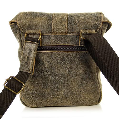 Skórzana torba unisex brązowa DAAG JAZZY RISK 155