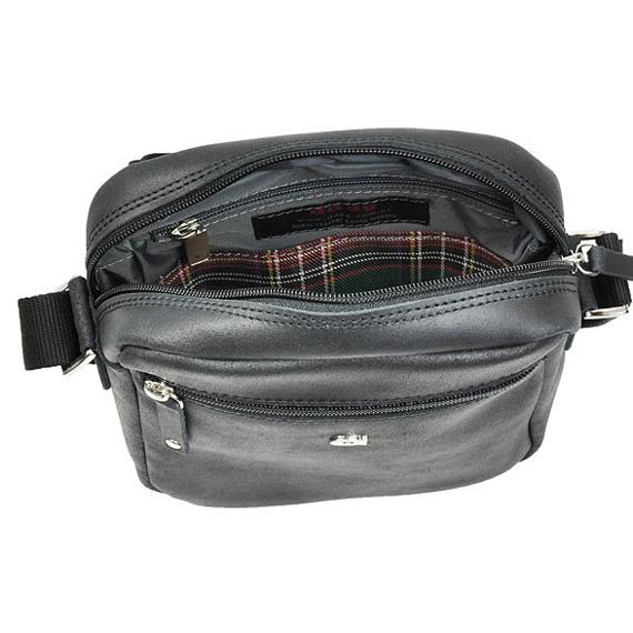 Skórzana torba unisex czarna DAAG JAZZY SMASH 81
