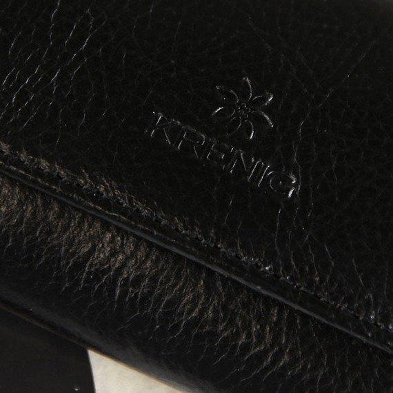 Skórzane etui na klucze KRENIG Classic 12007 czarne