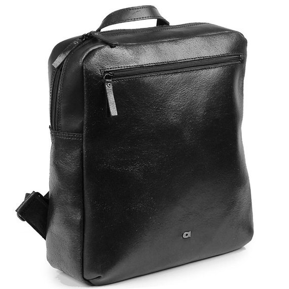 Skórzany męski plecak DAAG Stone 5 czarny