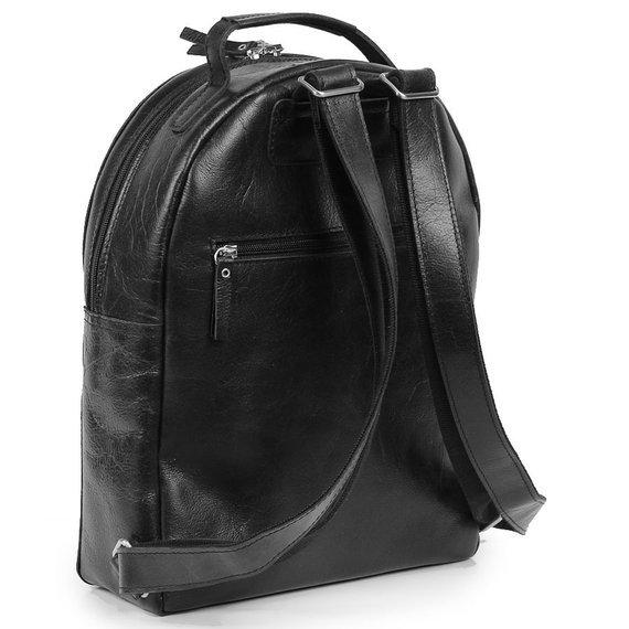 Skórzany plecak damski Daag Jazzy Party 82 czarny