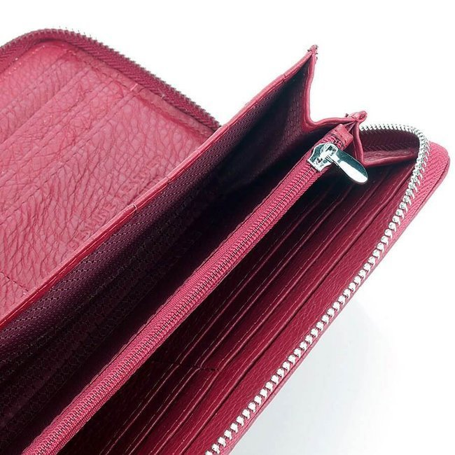 Skórzany portfel damski kopertówka Jennifer Jones 5297