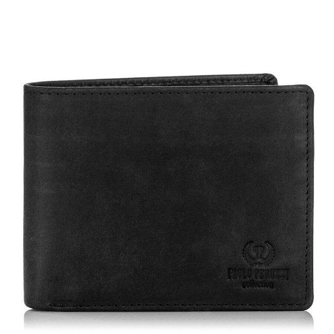 Skórzany portfel męski Paolo Peruzzi RFID IN-03
