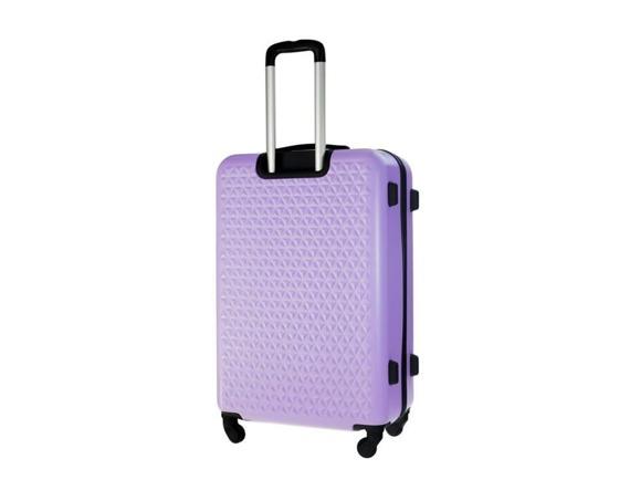 Średnia walizka podróżna STL870 fioletowa