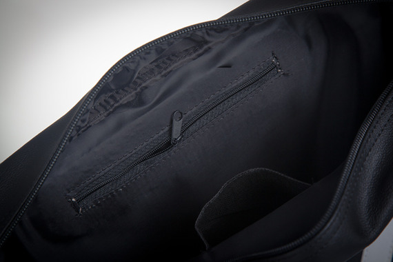 Stylowa torba męska na ramię SOLIER Messenger by Solier MS02 czarna