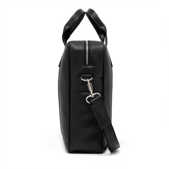 Torba męska na ramię na laptop casual BRODRENE B01 czarna