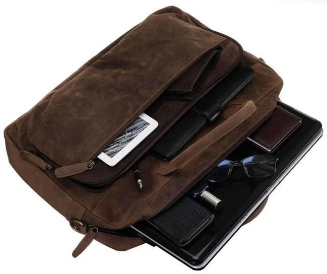 Torba na laptopa brązowa Always Wild LAP-513-TGH-NL BROWN