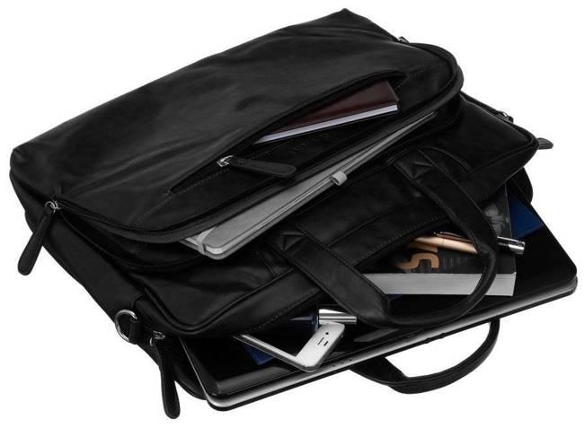 Torba na laptopa czarna Rovicky  LAP-R-513-PUD-6034 B